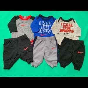 Baby Boy Nike Outfit Bundle